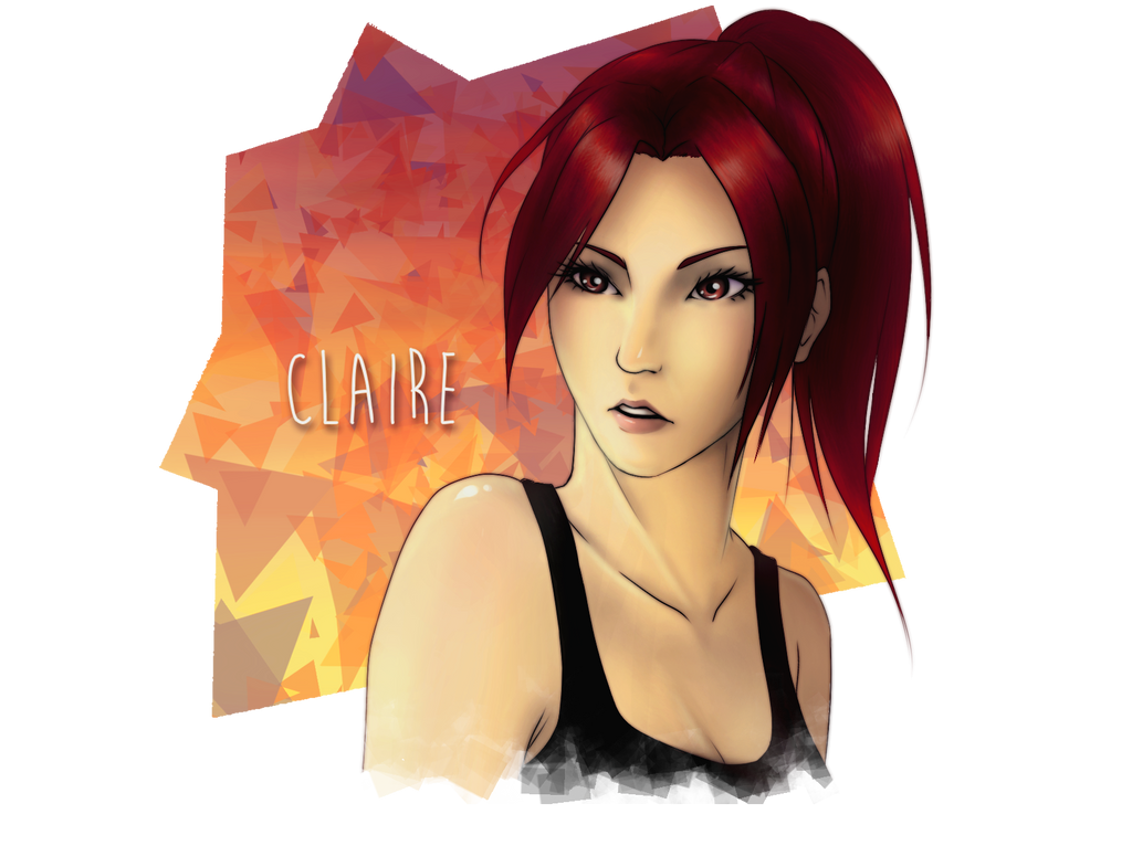 Claire for KINGDOM-HEARTS-FAN by HeavenRose150