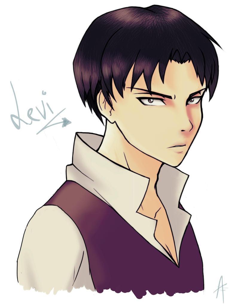 Weekly sketch #2 - Levi by HeavenRose150