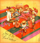Story of The Three Caballeros