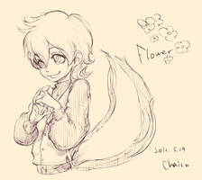 Flower by chacckco