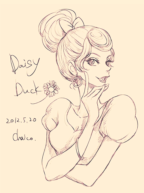 Daisy Duck by chacckco