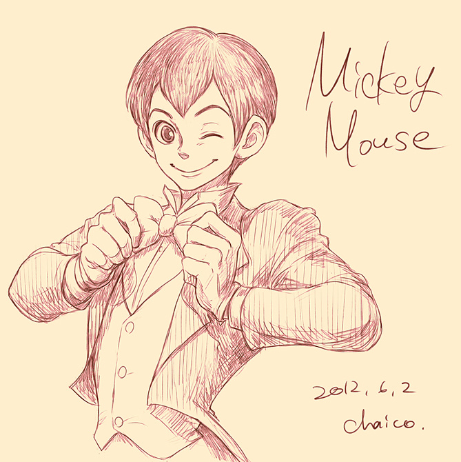Mickey Mouse by chacckco