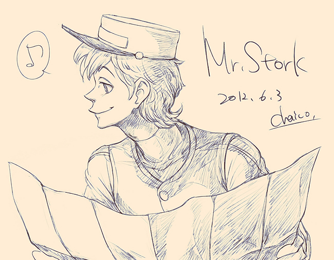 Mr.Stork by chacckco