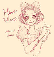 Minnie Mouse by chacckco