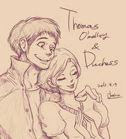 Thomas and Duchess by chacckco