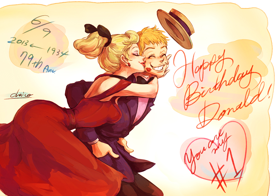 Anime Characters Born On October 8 : Happy birthday donald by chacckco on deviantart