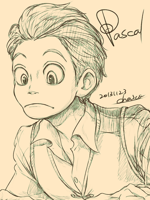Pascal by chacckco