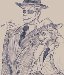Boss and bodyguard