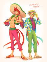 Panchito and Jose