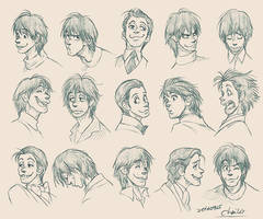 Expression Design of Goofy