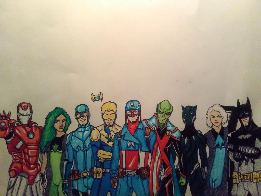 Justice League International by KingCozy7