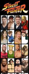 Street Fighter Fancast by KingCozy7