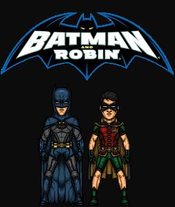 Batman and Robin (DC Nation: Extras) by KingCozy7