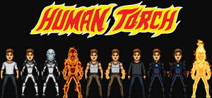 Human Torch/Johnny Storm (The MCEU)