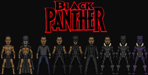 King T'Challa /Black Panther (The MCEU) by KingCozy7