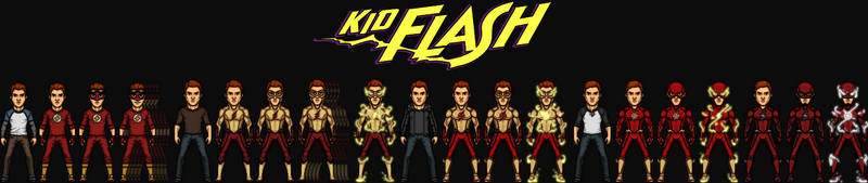 Wally West/Kid Flash (The DC Nation)