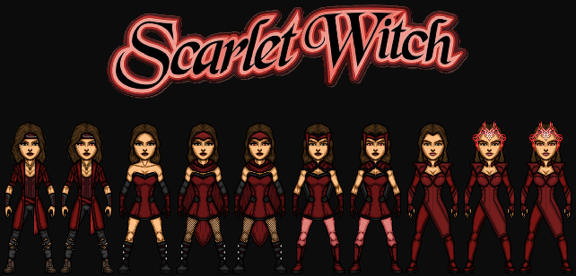 Wanda Maximoff/Scarlet Witch (The MCEU) by KingCozy7