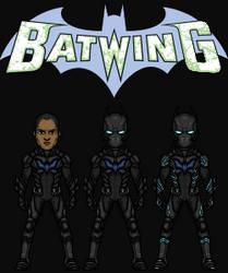 Luke Fox/Batwing (The DC Nation) by KingCozy7