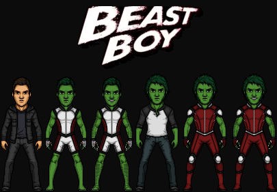Garfield Logan Beast Boy The Dc Nation By Kingcozy7 On Deviantart