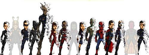 The Fallen Heroes by KingCozy7
