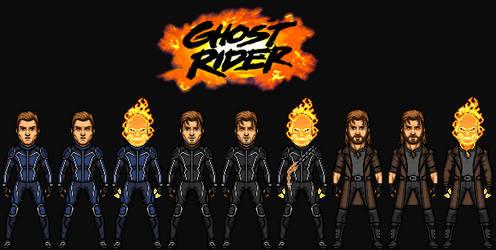 Johnny Blaze/Ghost Rider (The MCEU) by KingCozy7