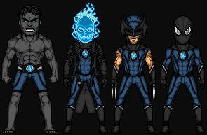 New Fantastic Four (MCEU Extras)