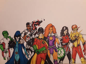 Titans Forever (colored)