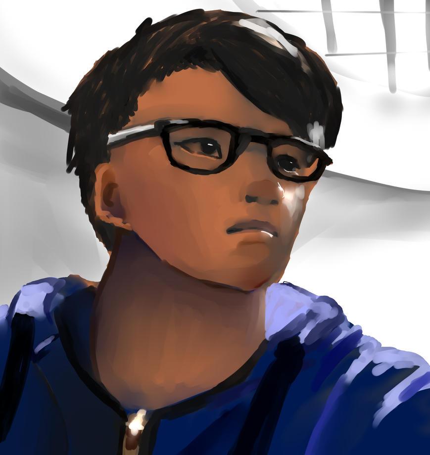 Self Portrait by AnimeDrawerGuy1000