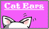 Cat ears Stamp by Mushroom-Jelly