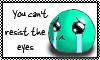 Sad eyes Stamp by Mushroom-Jelly