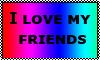Friends stamp by Mushroom-Jelly