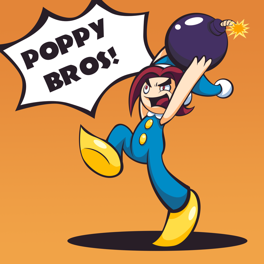 Poppy Bros! by Mushroom-Jelly