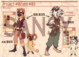Tamarin and hedgehog - ADOPTABLE - AUCTION (SOLD)