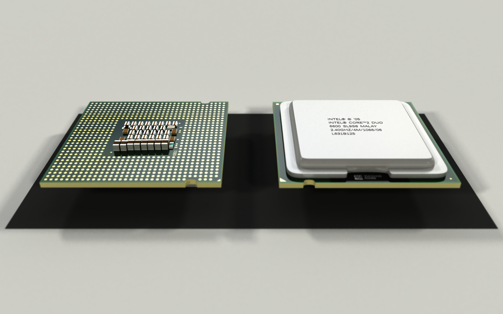 Intel Core 2 Duo E6600 by Zortje on DeviantArt