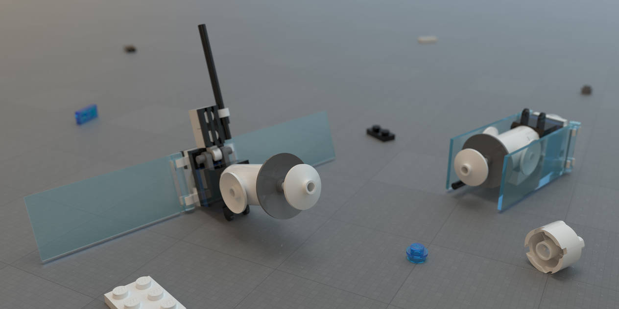 Lego 10231 Satellite