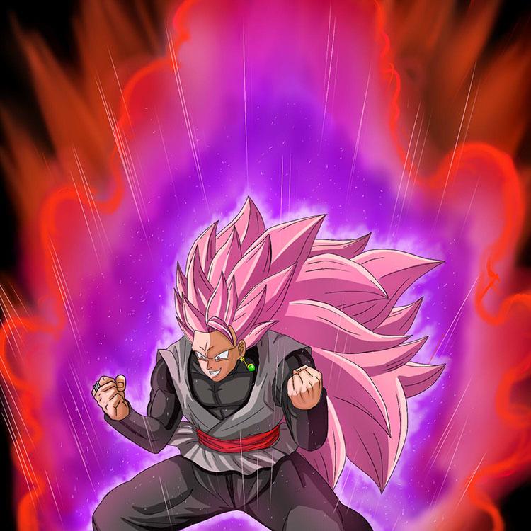 Goku black super saiyan rose 3 by drawanimemanga on deviantart - Super saiyan rose wallpaper ...