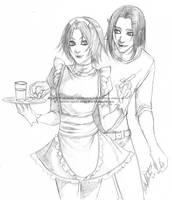 Sketch Commission - MofVeggies by Nashya