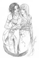 Sketch Commission - Aquastar by Nashya