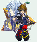 Kingdom Hearts II: Riku - Sora