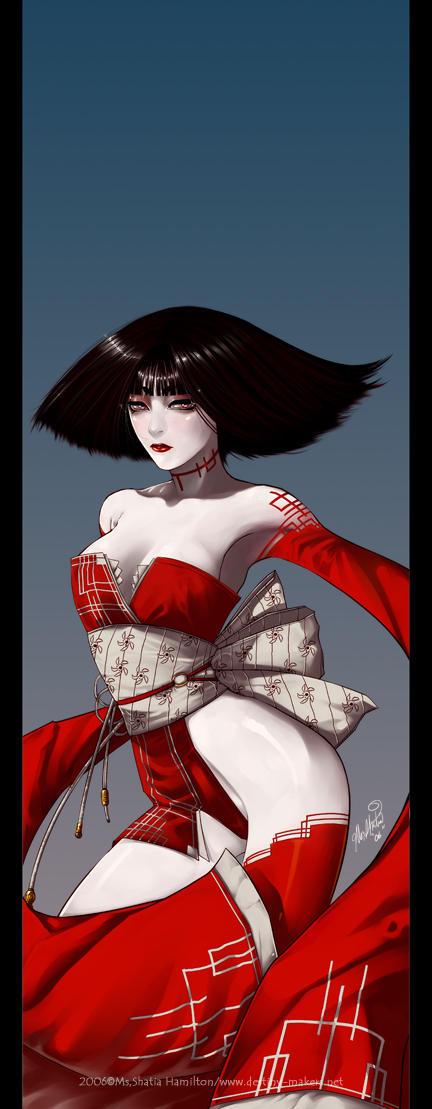 The Scarlet Banshee by Nashya
