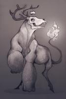 [P] Dead deer by Szczurzyslawa