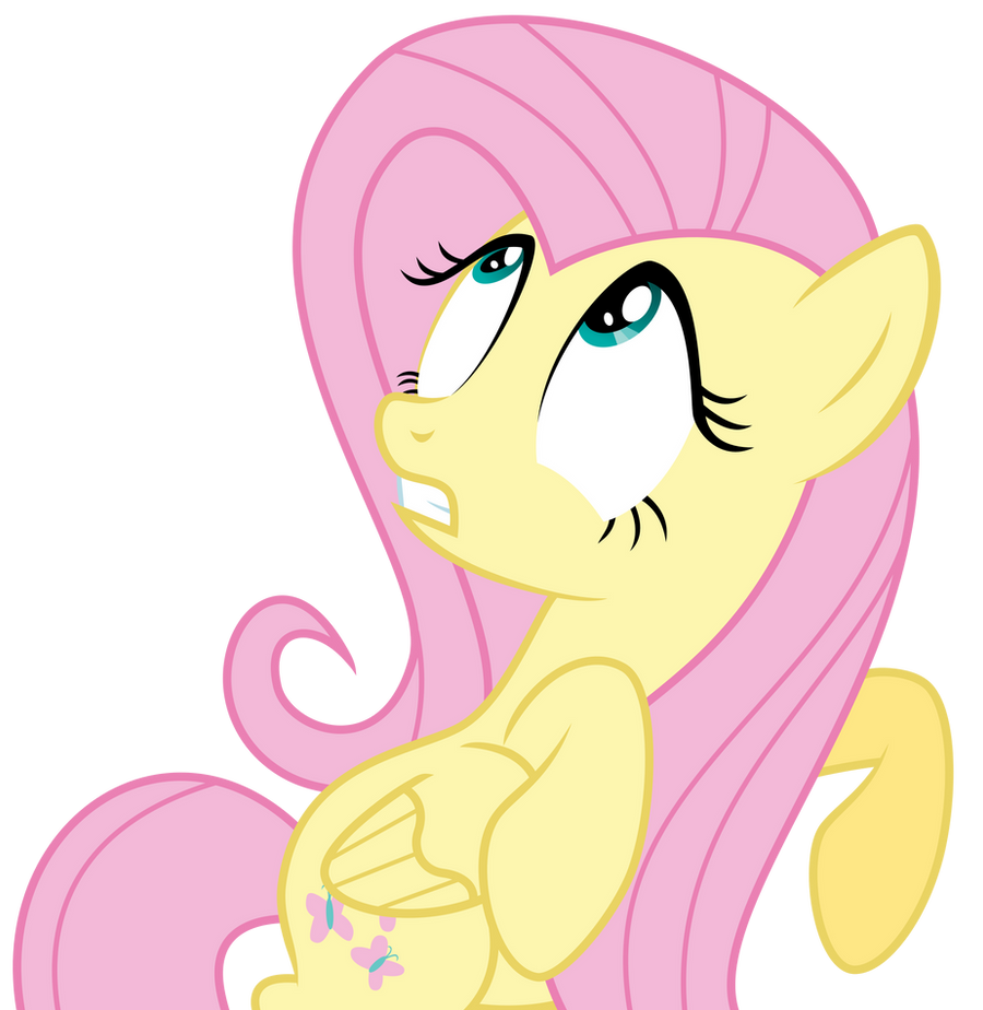 scared fluttershy by sakatagintoki117 on DeviantArt
