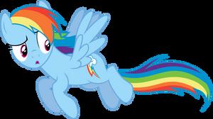 Distracted Rainbow Dash by sakatagintoki117