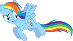 Distracted Rainbow Dash