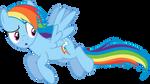 Distracted Rainbow Dash
