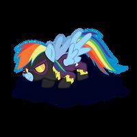 Rainbow Dash(nightmare Night) by sakatagintoki117