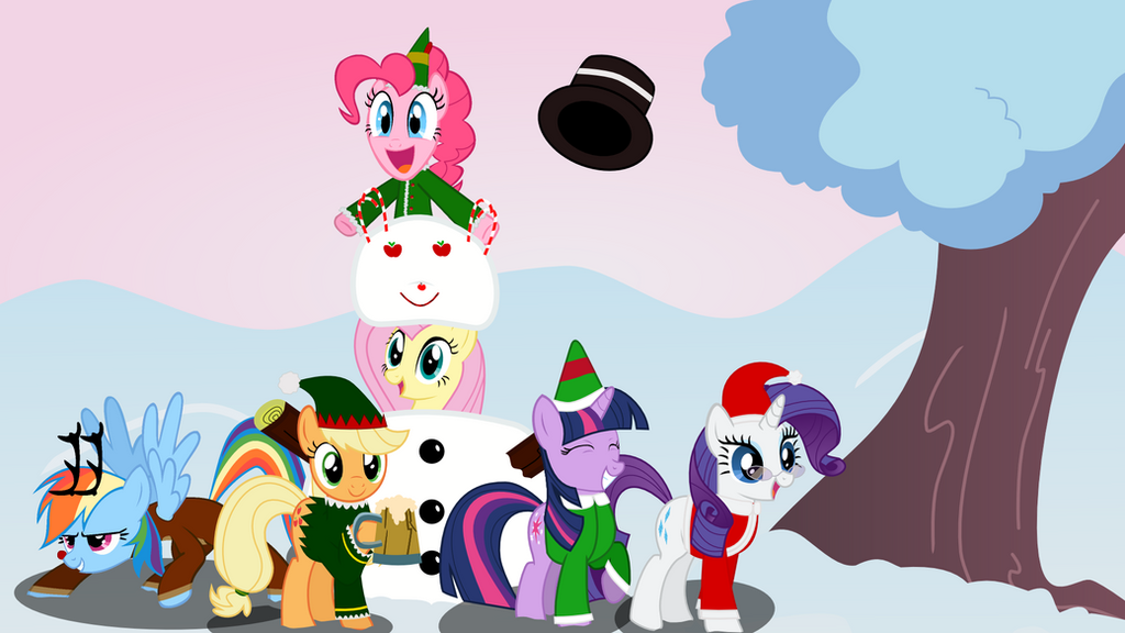 Christmas Wallpaper by sakatagintoki117