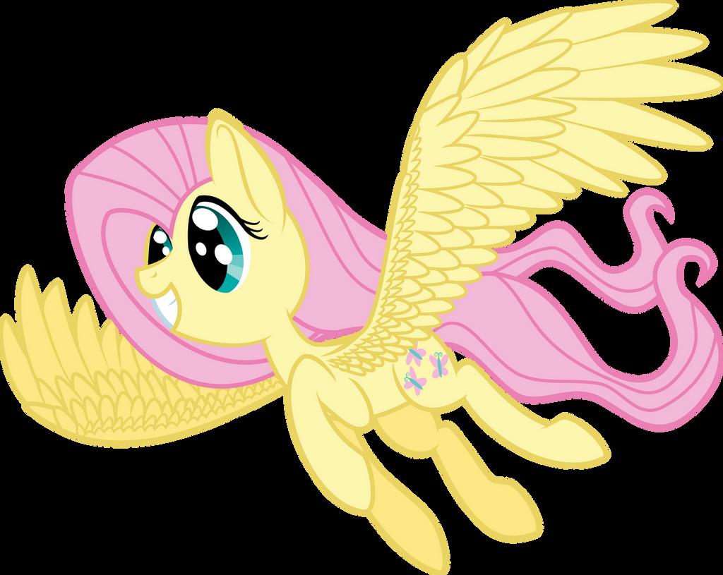 fluttershy flying very fast mlp - HD1024×814