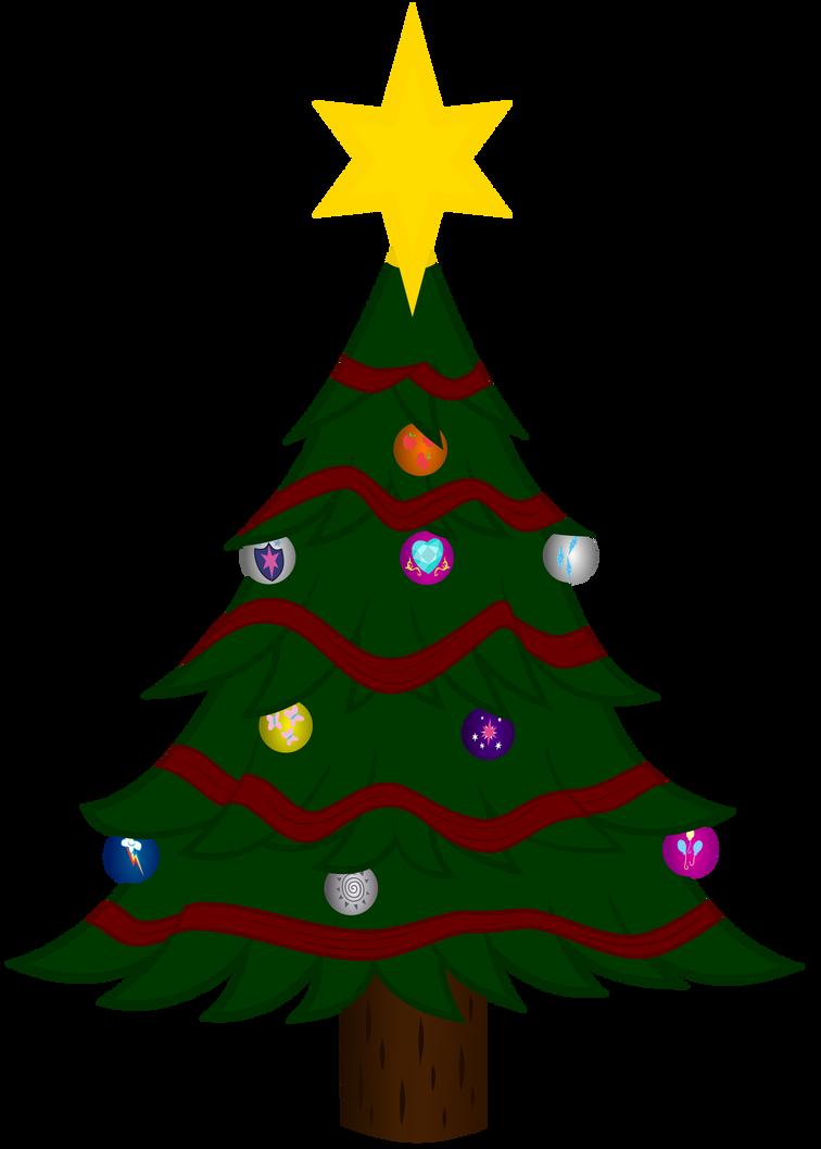 Christmas Tree Mlp By Sakatagintoki117 On Deviantart