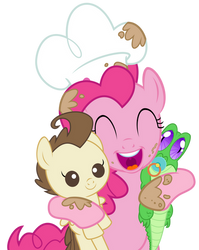 Pinkie hug by sakatagintoki117